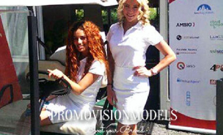 golf meisjes