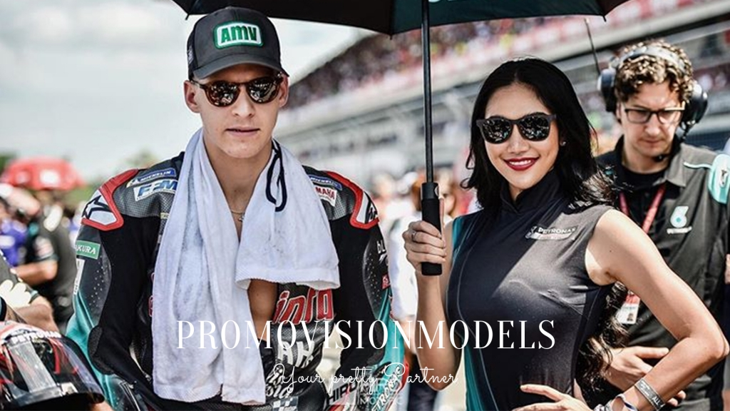 MotoGP Yamaha Sepang Racing Grid Girls by Promovisionmodels